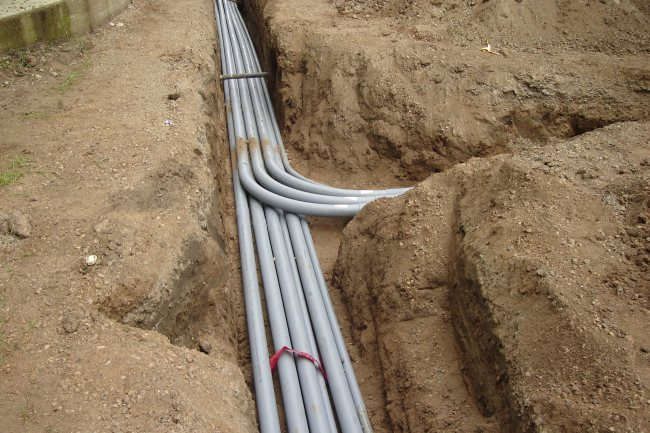 electrical underground and above ground a1 electrical installing electrical wiring proper way to extend electrical wiring