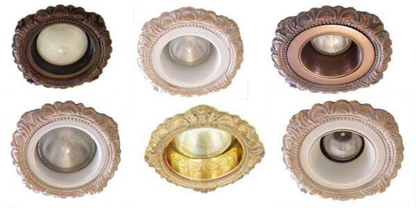 Decorative Recessed Light Trim Rings