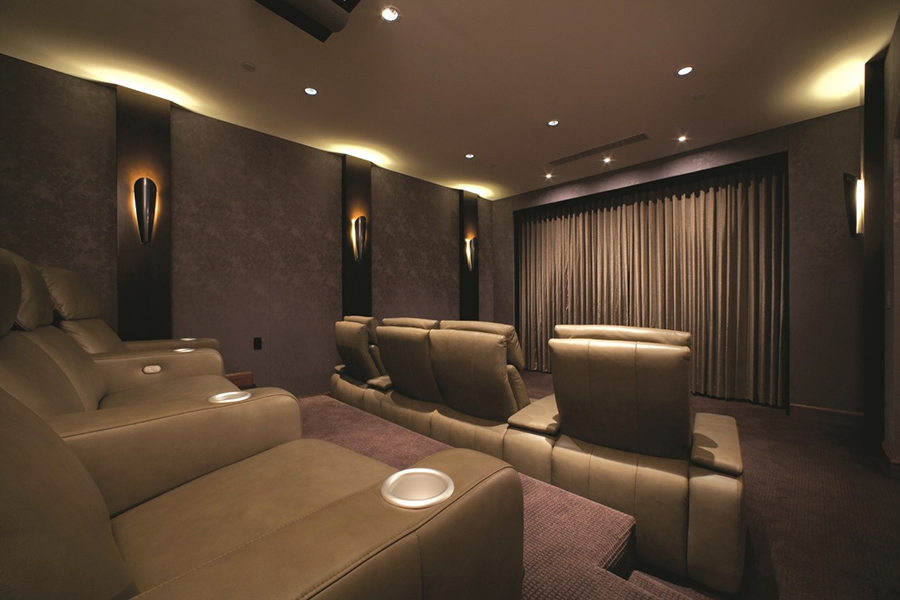 Image Gallery Home Theater Lighting