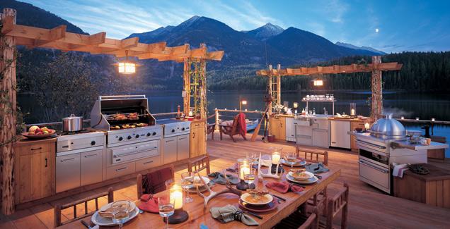 ... Outdoor Kitchen Designs Amazing View   Copy