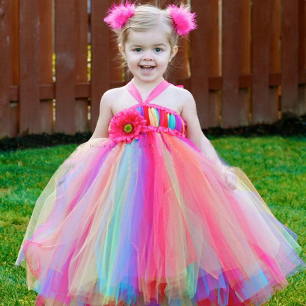 Multicolor-Cute-Toddler-Dresses-1st-Birthday-Girl-Tutu-Baby-Birthday-Party-Flowers-Girls-Dress-Infant-Princess
