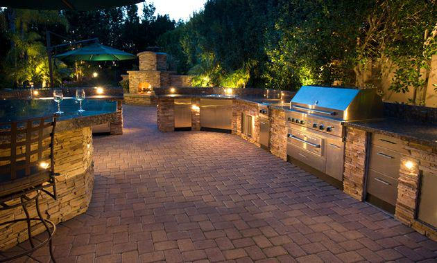 The Miracle Of Lighting For Outdoor Kitchen Is Free Hd Wallpaper This Was Upload At November 02 2017 By